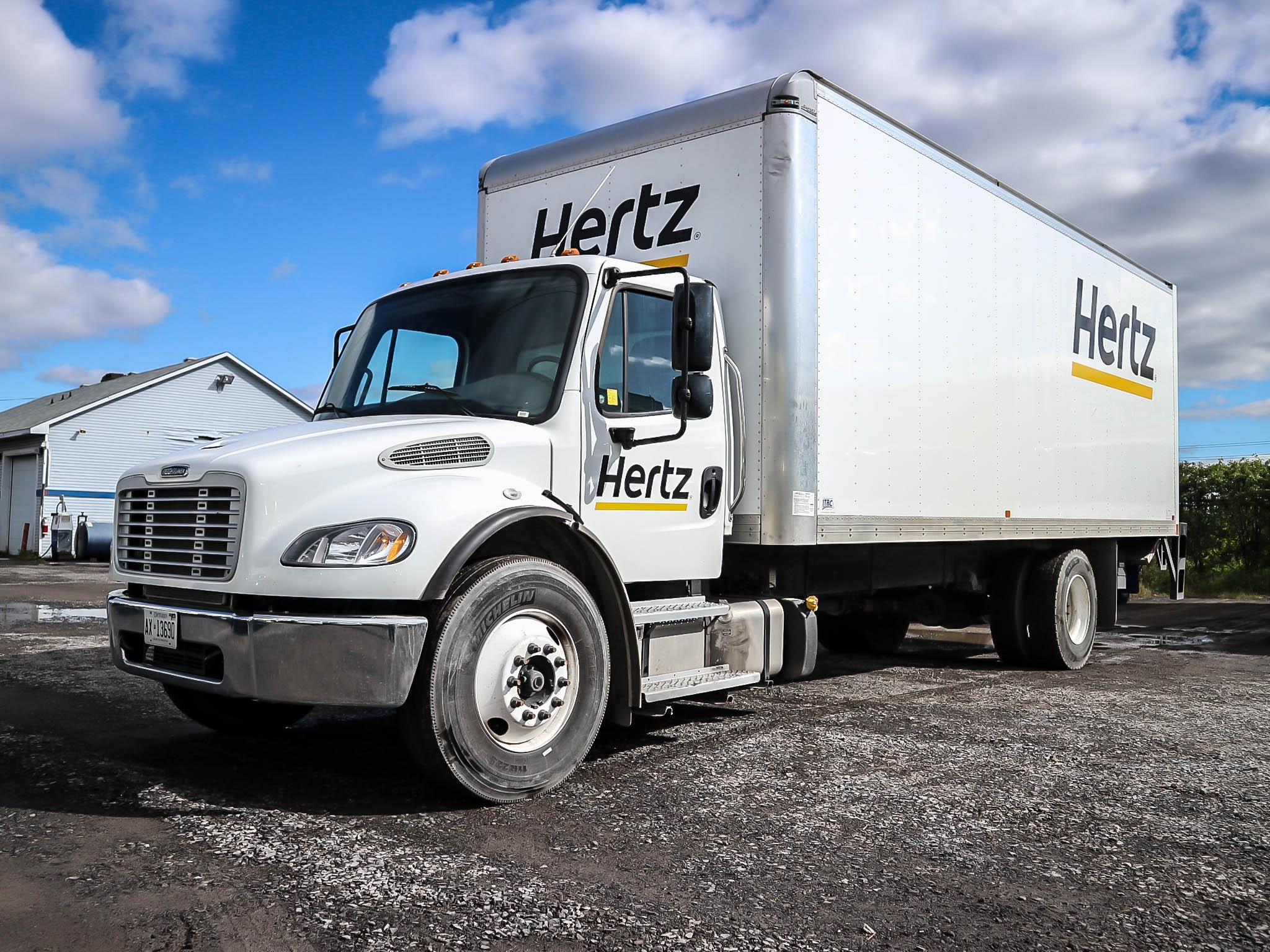 2019 Freightliner M2 Dual (Ramp & Lift) on 24′ box TIF body